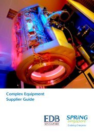 Complex Equipment Supplier Guide by SPRING Singapore and