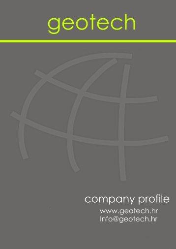 company profile - Geotech doo