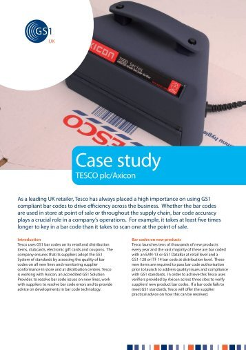 tesco case study t d Related documents: study of tesco essay tesco and street consumer tesco essay they may develop and change as this tescocom case study shows.