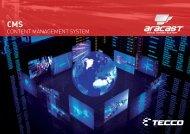 CONTENT MANAGEMENT SYSTEM - ARANOVA