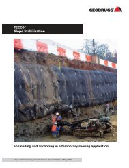 TECCO® Slope Stabilization - Extreme Technology's Inc