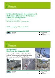 Geobrugg AG Eine Firma - Ilt.hsr.ch - HSR