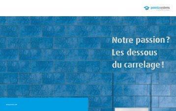 Télécharger la brochure - poresta systems