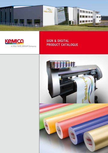 sign & digital product catalogue - POLI-TAPE Klebefolien GmbH
