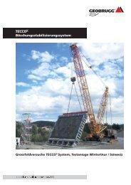 Grossfeldversuche TECCO ® System, Testanlage ... - Geobrugg AG