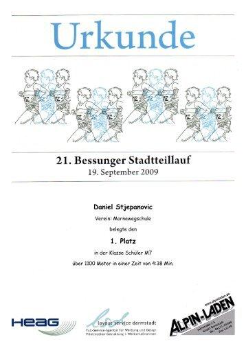 Schüler M7 - Bessunger Merck-Lauf
