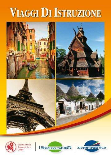 """""""viaggi di istruzione"""" 2011/12 - ATLANTE VIAGGI"""