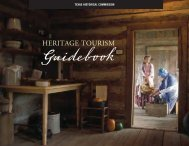 Heritage Tourism Guidebook - Texas Historical Commission