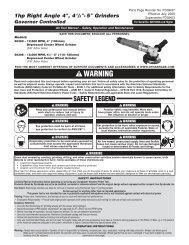 Pneumatic angle grinding machine 50302 (PDF