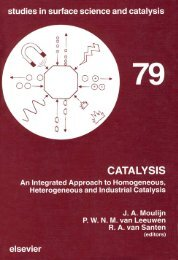 Catalysis : an Integrated Approach to Homogeneous ...