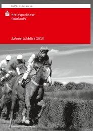 Jahresrückblick 2010 - Kreissparkasse Saarlouis