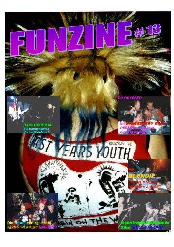 Funzine 13 - Old Punks from Hamburg Gallery