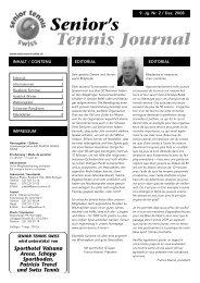 Journal 2/08 - Senior Tennis Swiss