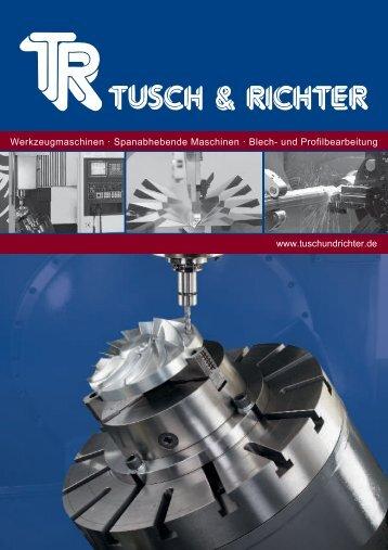 Tusch & Richter Katalog/Preisliste 10-2012 (PDF - Tusch und Richter