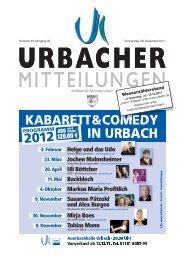 donner - Gemeinde Urbach