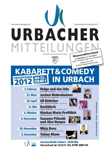 Donner Urbach