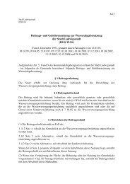 Satzung BGS-WAS - Ludwigsstadt