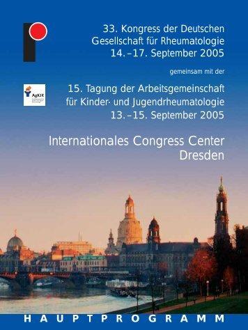 Internationales Congress Center Dresden - Deutsche Gesellschaft ...