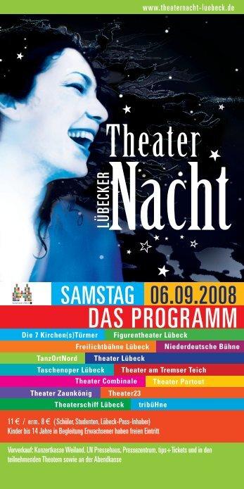 Das Programm gibt es als PDF-Download hier - Hansestadt LÜBECK