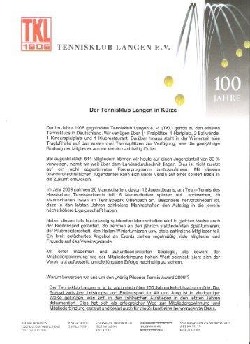 TK Langen - Deutscher Tennis Bund