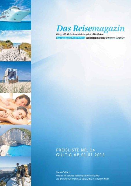 Das Reisemagazin - Münstersche Zeitung
