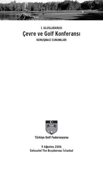 Kitapçığı PDF olarak indirmek için tıklayınız - Türkiye Golf Federasyonu