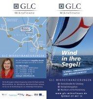 Flyer GLC Mikrofinanzierungen - Landkreis Lüchow-Dannenberg