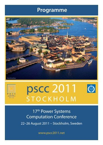 STOCKHOLM - 17th Power Systems Computation Conference