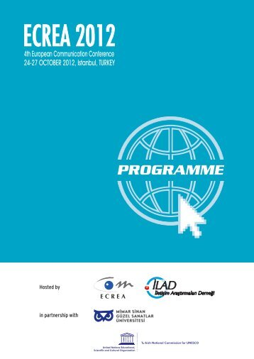 Download the final conference programme - ECREA 2012 Istanbul