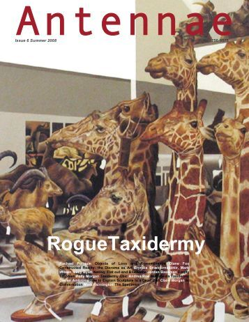 RogueTaxidermy - Antennae The Journal of Nature in Visual Culture