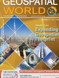 23-27 APRIL 2012 - GeoSpatialWorld.net