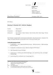Protokoll - 13.12.2011
