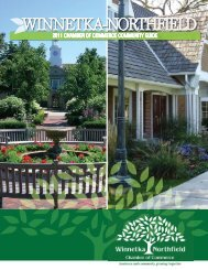 2011 Winnetka-Northfield Community Guide - Communities