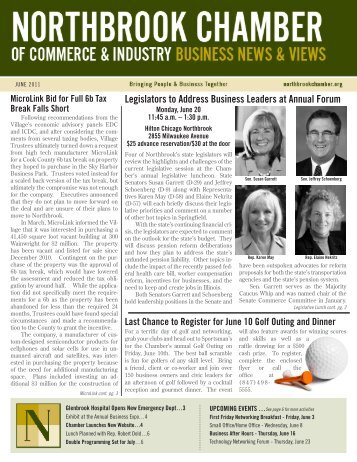 June - Northbrook Chamber of Commerce