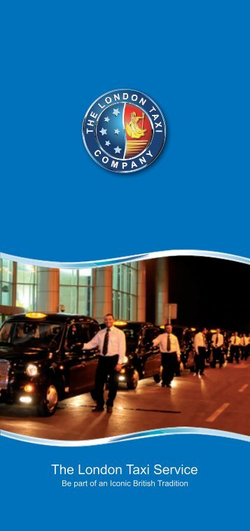 To download The London Taxi Service brochure please
