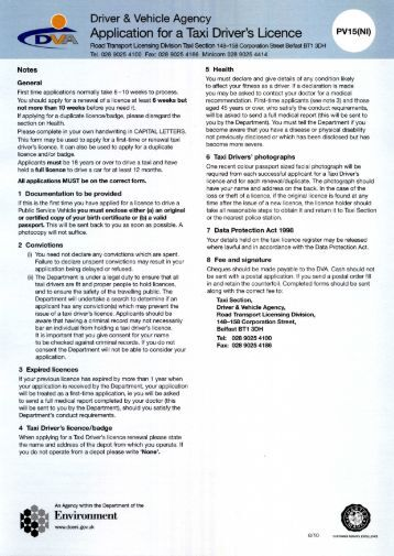 driving licence application form d401 pdf