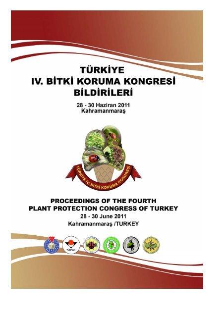 Turkiye Iv Bitki Koruma Kongresi Duzenleme Kurulu