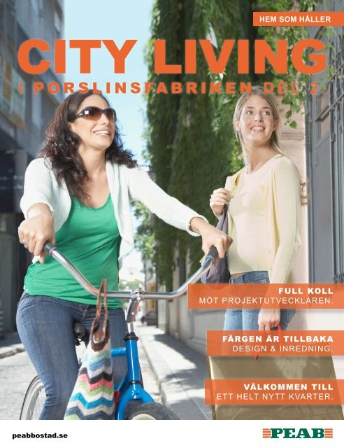 City Living magasin - Peab