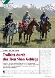 Trailritt durch das Tien Shan Gebirge - Cranio-kelm.de