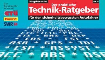 Der praktische Technik-Ratgeber - KFZ Autowerkstatt