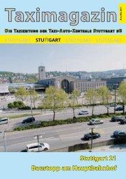 Taximagazin - Taxi-Auto-Zentrale Stuttgart