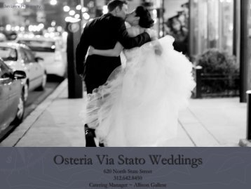 Osteria Via Stato Weddings