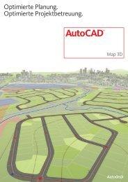Download Infobroschüre AutoCAD® Map 3D (PDF)