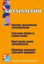 2/2012 - Sotsiaalministeerium