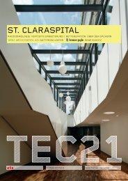 Sonderdruck St.Claraspital - Henauer + Gugler AG