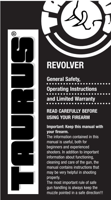 Taurus Revolver Manual