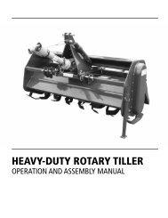 Heavy-duty RotaRy tilleR - Tarter Farm & Ranch Equipment