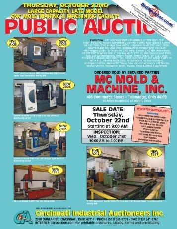 mc mold & machine, inc. mc mold & machine, inc. - Cincinnati ...