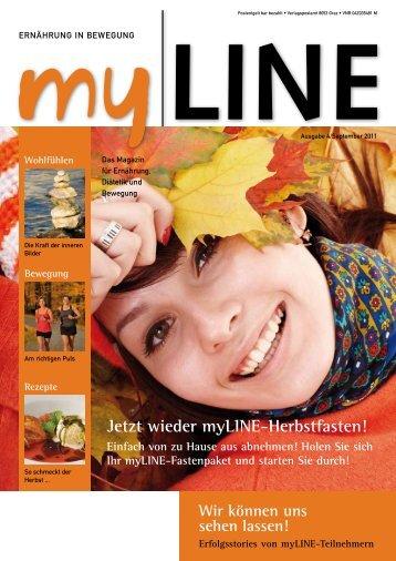 Jetzt wieder myLINE-Herbstfasten! - Host Europe