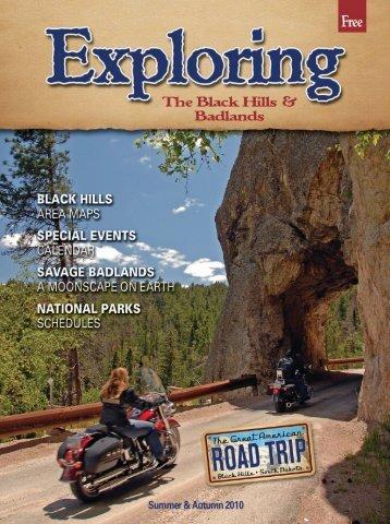 2010 Exploring the Black Hills - Black Hills, Badlands and Lakes